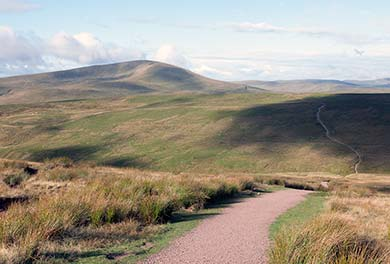 Brecon beacons footpath